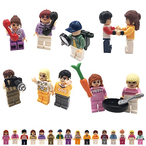 Review Minifigures Set of 48+10