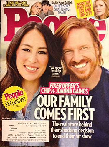 People October 23, 2017 Fixer Upper's Chip & Joanna Gaines - Our Family Comes First