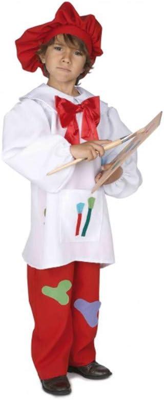 Disfraz pintor infantil. Talla 3-4 años.: Amazon.es: Juguetes y juegos