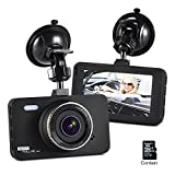 Dashboard Camera FHD 1080P 150 Wide Angle 3' Screen Dash Cam Car DVR Vehicle Dashcam On Dash Video, G-Sensor ,WDR ,Loop Recording ,Night Vision with 8GB SD Card Black Friday Deals 2017