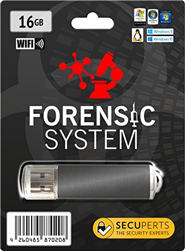 SecuPerts Forensic System – Computer and network analysis tool – 16 GB USB 3.0 stick