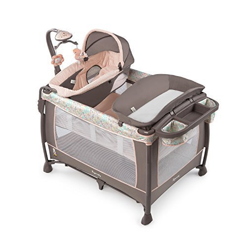 Soothe Me Softly Washable Playard Piper by Ingenuity