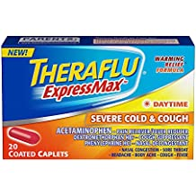 Theraflu ExpressMax Caplets for Daytime Severe Cold and Cough (20-count)