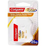 Colgate Total Tartar Control Durable Oral Care Dental Floss 25m, 25 grams