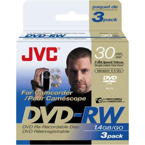 Jvc Vdw14Eu3 Mini Dvd-Rw 3-Pk