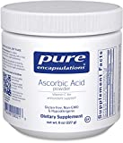 Cheap Pure Encapsulations – Ascorbic Acid Powder – Hypoallergenic Vitamin C Supplement for Antioxidant Support* – 227 Grams
