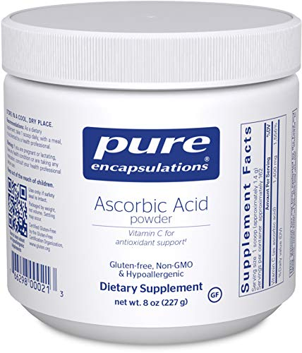 Pure Encapsulations – Ascorbic Acid Powder – Hypoallergenic Vitamin C Supplement for Antioxidant Support* – 227 Grams Review