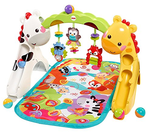Fisher-Price Newborn-to-Toddler Play Gym, Rainforest