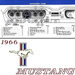 1966 ford mustang owners manual 66 owner guide book includes gt rh amazon com ford mustang owners manual 2017 ford mustang owners manual 2018
