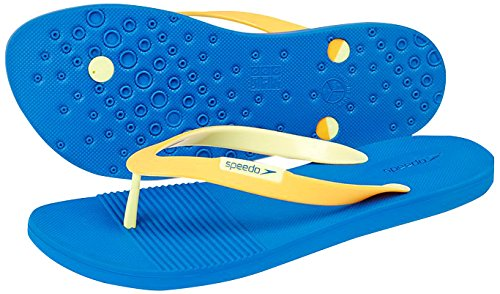 Speedo saturate II THG AM, chanclas para hombre Mdanube/Mango/Lemon Sorbet