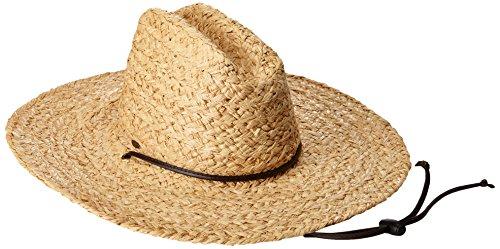 Scala Women's Raffia Lifeguard Hat, Natural, One Size
