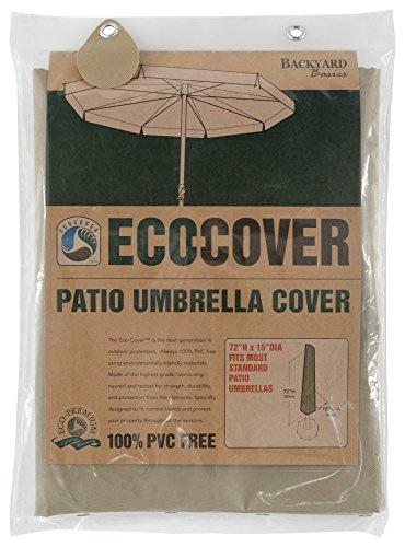 Mr. Bar-B-Q Backyard Basics Eco-Cover PVC Free Premium Patio Umbrella Cover (Sale B&q Furniture Garden)