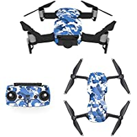 Waterproof Stickers Decal for Drone DJI Mavic Air Kit - Includes Drone Skin, Remote Controller Skin and Battery Skins (MC02)