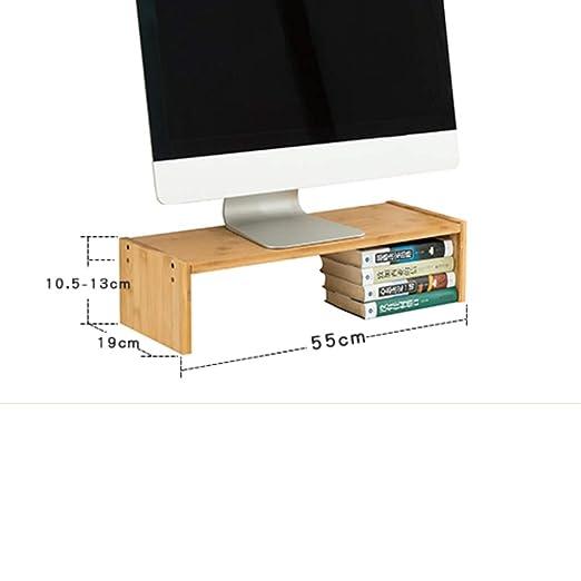 QTQHOME 2 Soporte para Monitor Riser Tabla Equipo Notebook TV ...