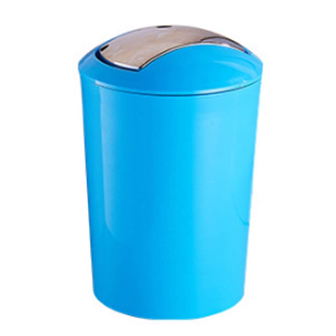 Amazon.com: Lingxuinfo 6.5L European Style Trash Can Wastebasket ...