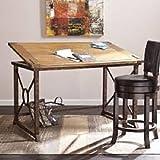 Tilt-top Drafting Table Desk Workstation for Home and Office