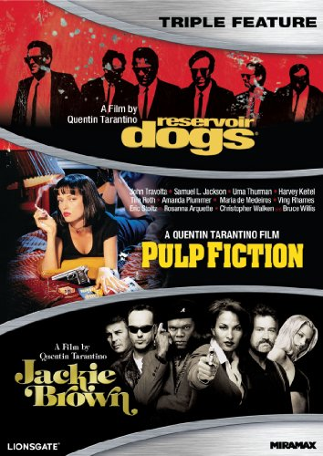 Quentin Tarantino Triple Feature DVD product image