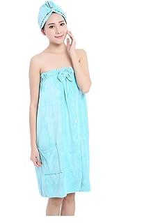 6f80fa4f0c Bowknot Towel Wrap Tube Dress Soft Wearable Beach Spa Shower Bath Cover Up  Wrap Around Towel