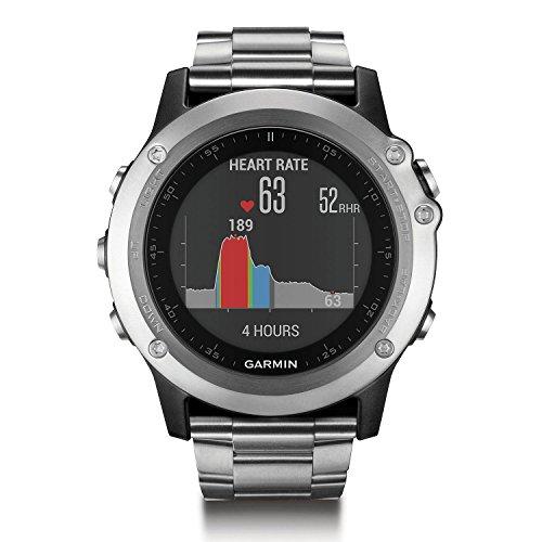 Garmin Fenix 3 HR GPS Watch with Titanium and Sport Bands by Garmin