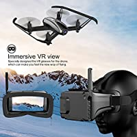 Drone with Camera, Potensic RC Quadcopter Racing Drone with 720P HD Camera RTF 4 Channel 2.4GHz 6-Gyro(360 Degree Flip) Headless Mode & Altitude Hold Function & Carrying Case & VR Glasses by Potensic