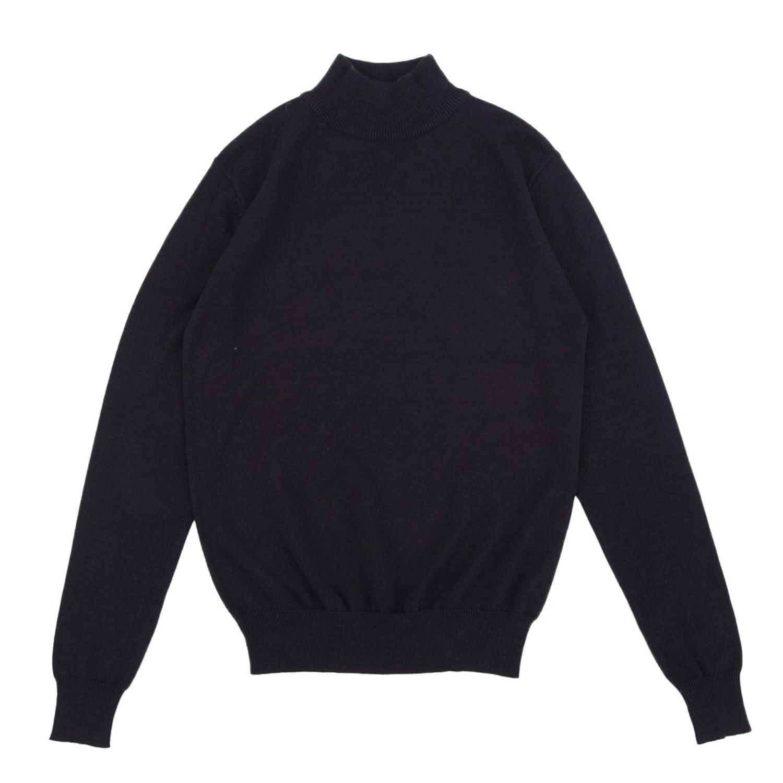 Soojun Women's Turtleneck Knit Long Sleeve Loose Sweater Pullover