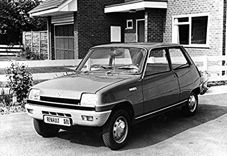 1973 Renault 5 TL Automobile Photo Poster