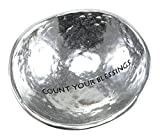 Cathedral Art PRD101 Count Your Blessings Trinket Dish, 2-1/2-Inch