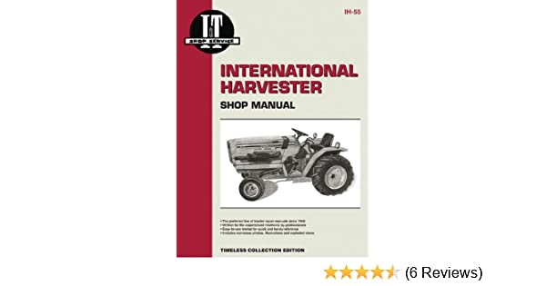international harvester shop manual series 234,234hydro,244&254 (i & t shop  service) paperback – may 24, 2000