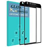 TAURI [2-PACK] For LG G6 / LG G6 Plus / LG G6+ [Full Cover] [Tempered Glass] Screen Protector with Lifetime Replacement Warranty