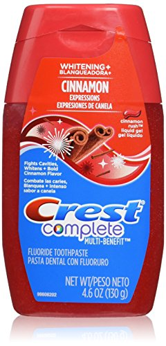 Crest Complete Whitening Plus Expressions Cinnamon Rush Liquid Gel...