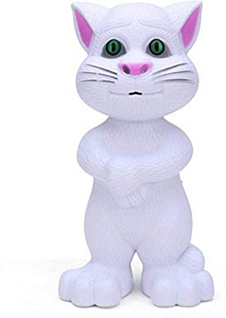 Shreeja Collections Talking Tom Cat with Recording, Music, Story and Touch Functionality