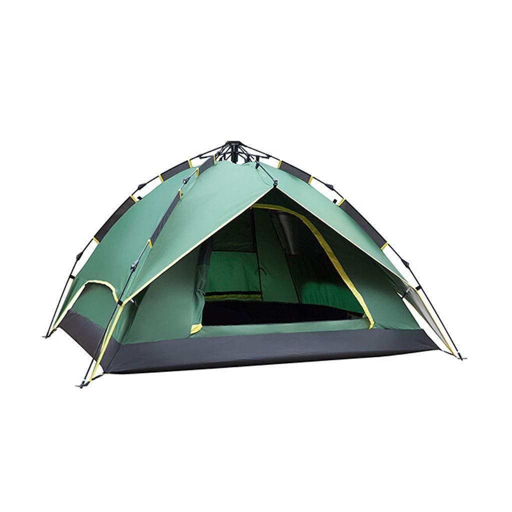 LALAWO Camping de Velocidad automática Tienda de campaña Abierta Juego al Aire Libre Doble Multi-Persona Doble Acampada a Prueba de Lluvia Tienda de campaña