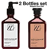 Cheap NOVUHAIR [ Novu Hair ], HAIR LOTION + SHAMPOO, Set of 2 ,