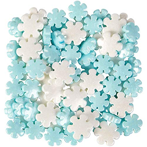 Holiday Pearlized Snowflakes Mix Sprinkles, 4 Ounces by Wilton ()