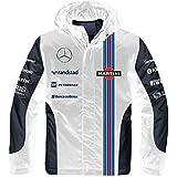 Amazon.com : Williams Martini Racing Rain Jacket : Sports ...
