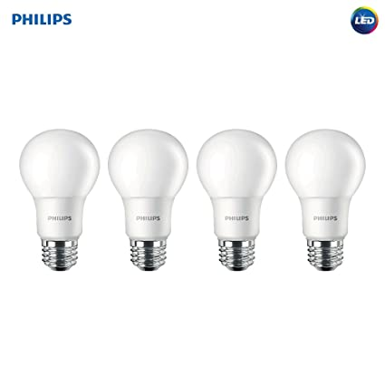 Philips 455717 LED Non-Dimmable A19 Frosted Light Bulb: 1500-Lumen ...
