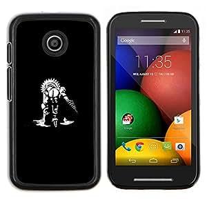 Caucho caso de Shell duro de la cubierta de accesorios de protección BY RAYDREAMMM - Motorola Moto E - Gran papá