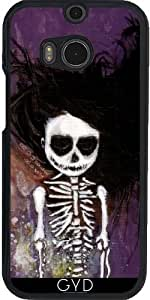 Funda para Htc One M8 - i esqueleto by Rouble Rust