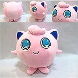 6″ Cute Kids Anime Pocket Monster Jigglypuff Stuffed Doll Pokemon Plush Toy Gift