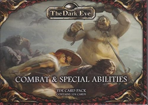 The Dark Eye Card Pack: Combat & Feats (ULIUS25508) (Feat Card)