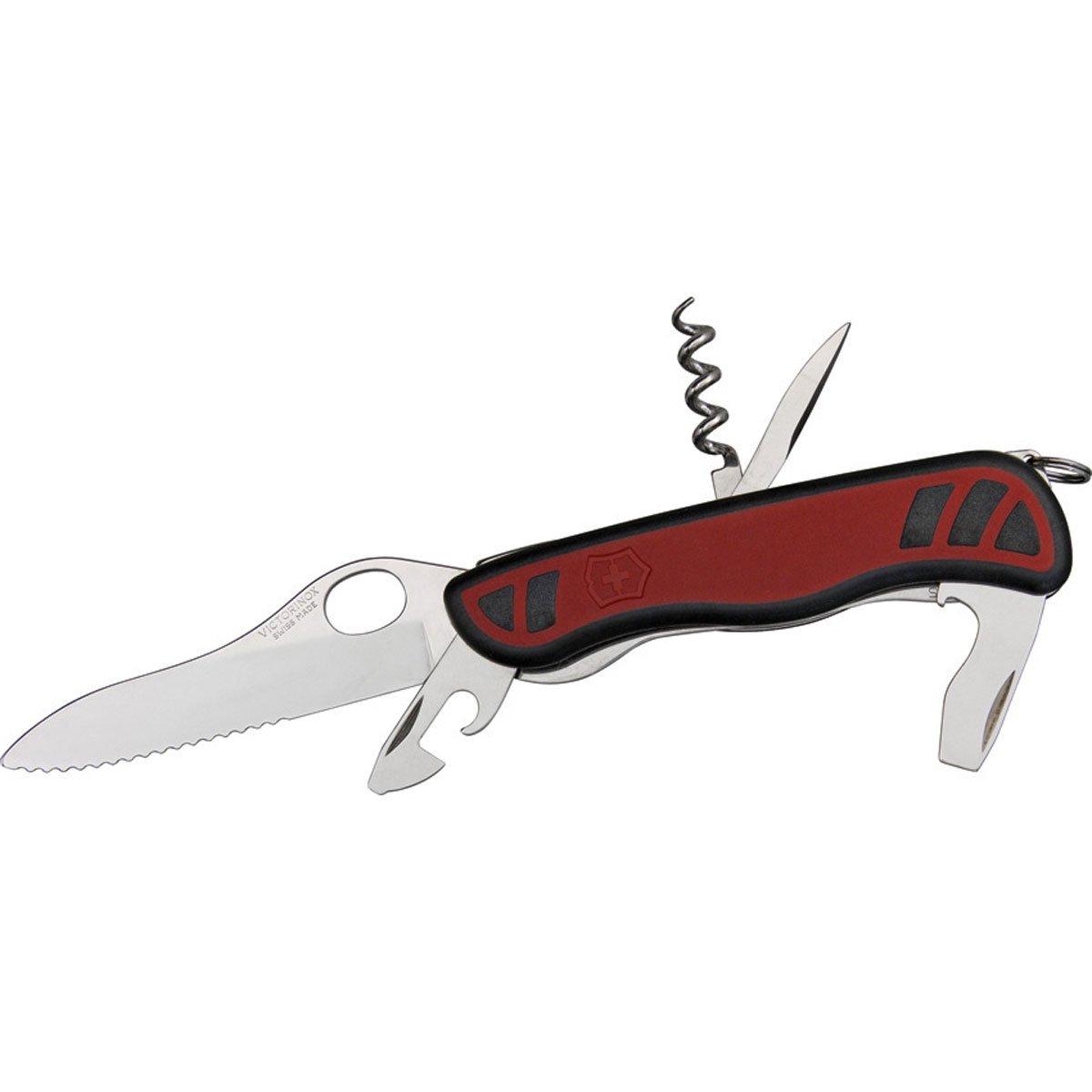 Victorinox Taschenwerkzeug Nomad OneHand Wellenschliff 2C rot schwarz 0.8351.MWC B0050DJB4S   Mittel Preis