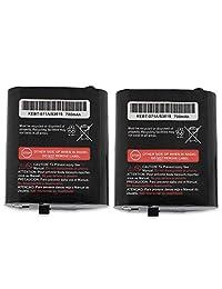 2 Unidades 700mAh 3.6 V Batería recargable de radio bidireccional de níquel e reemplazo de metal de níquel para Motorola GMRS / FRS Motorola M53617 / 53617, KEBT-086-A, KEBT-086-B, KEBT-086-C, KEBT-086-D