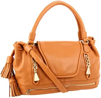 See by Chloe Cherry Satchel,Tan,One Size