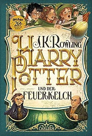 Carlsen Verlag Harry Potter Und Der Feuerkelch 4 Band Gebundene
