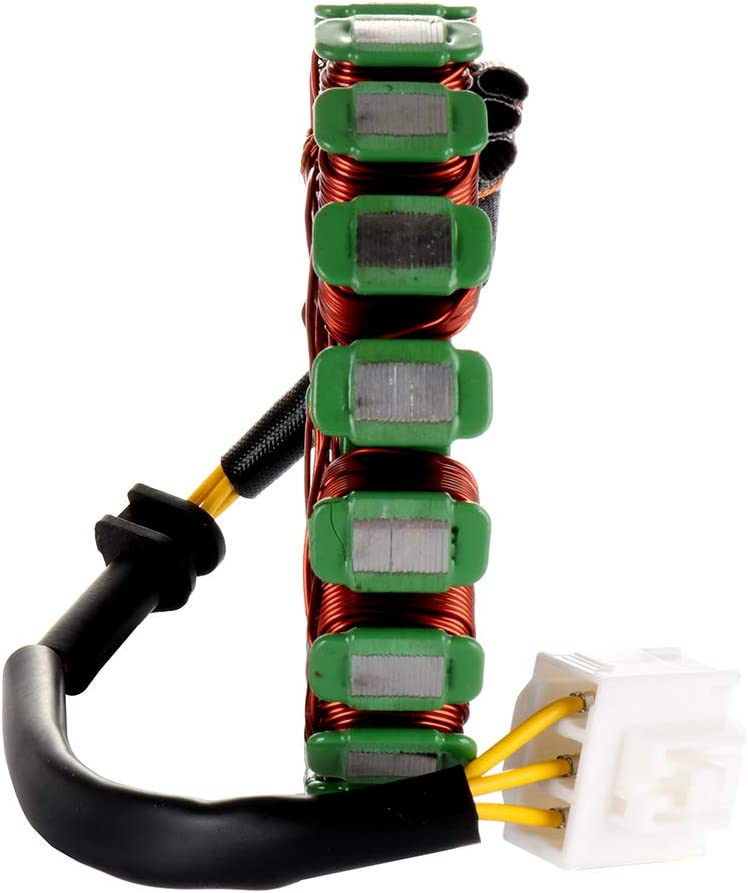 ECCPP Generator Stator Magneto Fit for 2004-2007 Honda CBR1000RR 2005 2007 Honda CBR1000RR Repsol Compatible with 31100-MEL-305 31120-MEL-D21 Magneto Stator