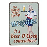 20x30cm Vintage Metal Tin Sign Plaque Wall Art Poster Cafe Bar Pub Beer #7