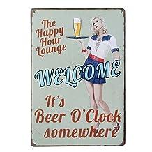 20x30cm Vintage Metal Tin Sign Plaque Wall Art Poster Cafe Bar Pub Beer #7