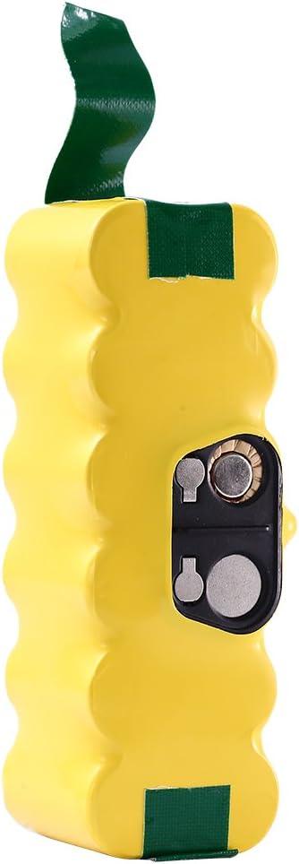 3500mAh Ni-MH Repuesto para iRobot Batería 14.4V Roomba Aspiradora 500 600 700 800 Serie 500 510 520 530 532 534 535 540 550 552 555 560 562 570 580 581 Boetpcr