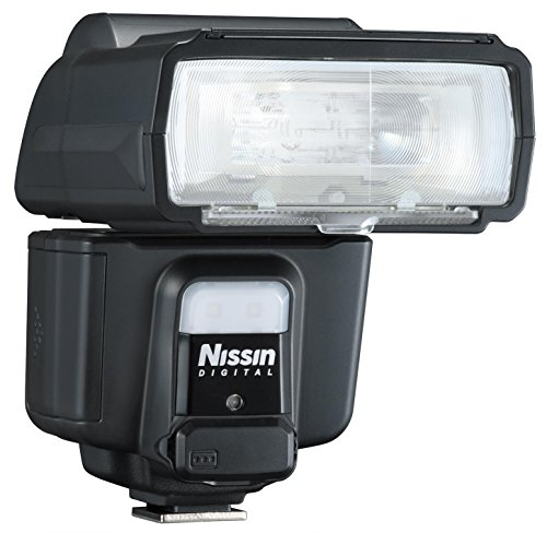 Nissin i60A Air Flash, Wireless 2.4GHz Nissin Air System Receiver for Nikon - Includes Nissin USA 2 Year Warranty