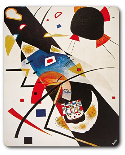 Wassily Kandinsky Mouse Pad - Two Black Spots 1923 for sale  Delivered anywhere in Canada